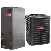 Goodman 2.5 Ton 16 Seer R410a Complete Split System Heat Pump