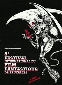 Calendrier Festival.Details Sur Nicollet Mini Calendrier 8 Festival Internat Film Fantastique S F Bruxelles 1990