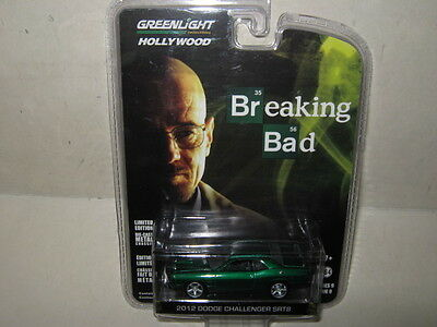 Chase 2012 DODGE CHALLENGER BREAKING BAD HOLLYWOOD 9 1/64 GREENLIGHT 44690 A
