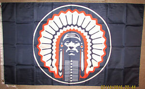 ILLINOIS-FIGHTING-ILLINI-3x5-Feet-Flag-Banner-Blue-Chief-Illiniwek-Indian-NCAA