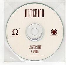 (GJ797) Ulterior, Sister Speed / Aporia - DJ CD