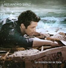 Alejandro Sanz La Musica No Se Toca CD