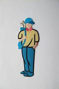 2733L-D-6-1-4-034-Golf-Boy-Men-Golf-Club-Embroidery-Iron-On-Applique-Patch