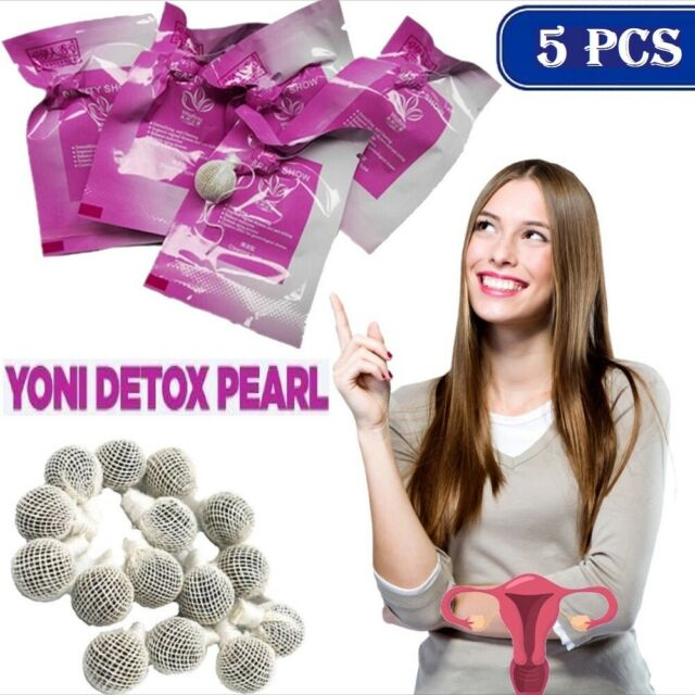 1-10 CLEANSES Yoni Detox Pearls detox