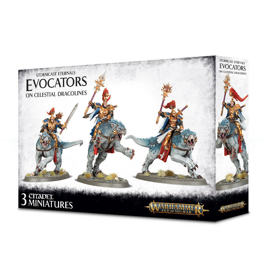 Warhammer Age of Sigmar  Evocators on Celestial Dracolines 96-41