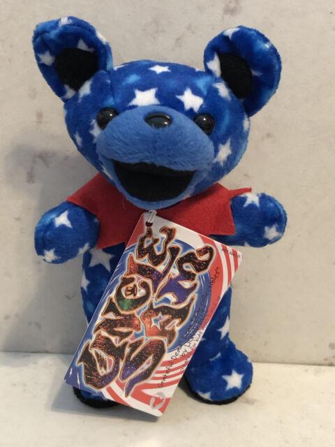 "NWT Grateful Dead ""Uncle Sam"" Edition 3 Bean Bear"