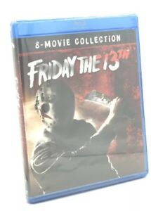 Friday-the-13th-8-Movie-Collection-Blu-ray-Disc-2018-6-Disc-Set-NEW