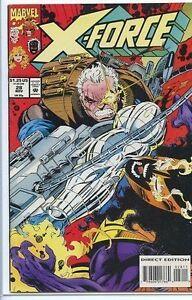 X-Force-1991-series-28-near-mint-comic-book