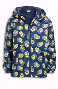 999ef0465 Next Despicable Me Minions Jacket Boys Rain Coat Size 3,5,6,9,10 ...