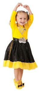 YELLOW-EMMA-WIGGLES-Deluxe-Dress-Up-Costume-Brand-New-Size-1-3-or-3-5-yrs-old