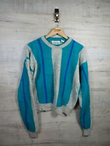 VTG-80s-Crazy-Bill-Cosby-Britches-Wolle-Sweatshirt-Sweater-Pullover-refcosby-gross