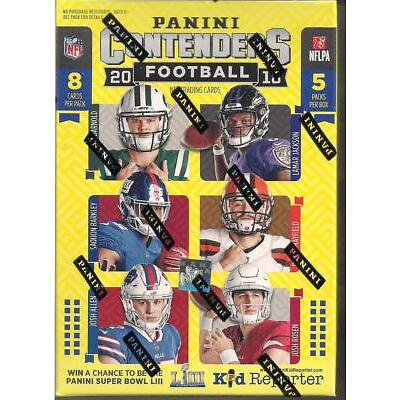 2018 Panini Contenders Football NFL Blaster Boxes (4 Box Lot) 4 Autos or Relics
