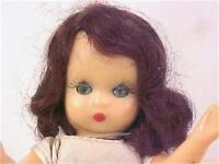 Nancy Ann Storybook Doll Hard Plastic Pale Yellow Gown Vintage NAME HELP