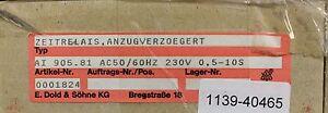 DOLD-Anzugsverzoegertes-Zeitrelais-AI-905-81-230VAC-50-60Hz-gt-0-5-10s-Nr-0001824