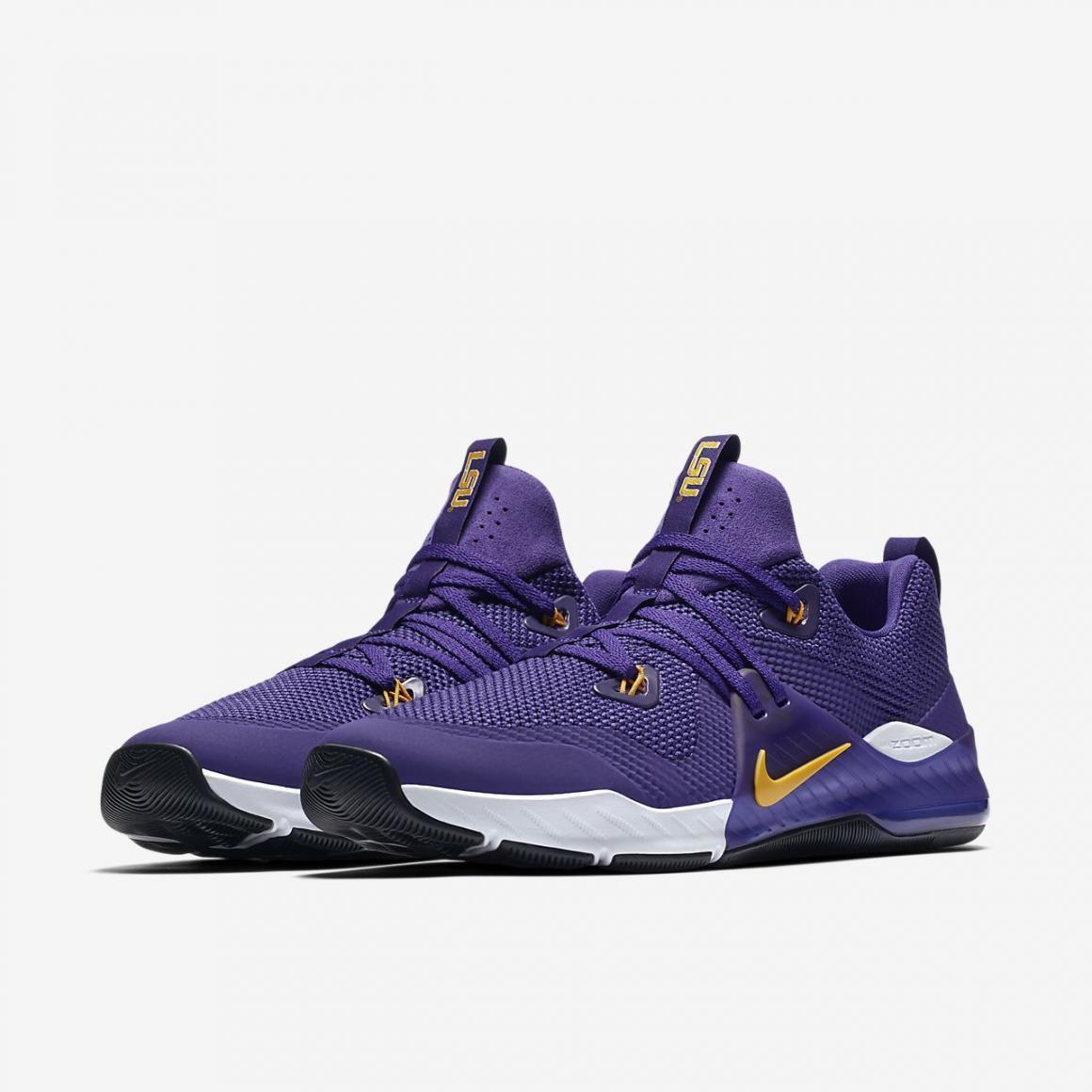 Nike Zoom Train Command College Men shoes LSU Multi-Sz Purple Uni gold AO4397 571
