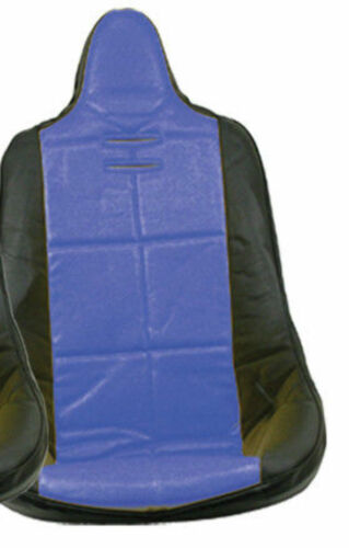 VW BUG BAJA ROCK CRAWLER SAND RAIL HI-BACK VINYL SEAT COVER BLUE