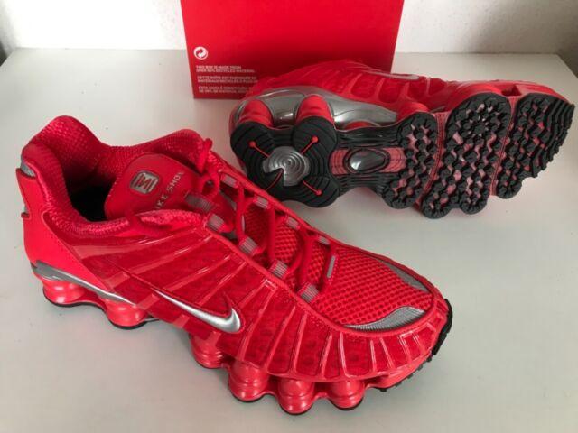 NEU Nike Shox TL Speed rot Gr. US 4 5.5 11.5 Herren Damen Schuhe bv1127 600