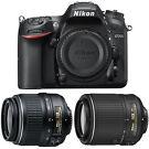 Nikon D7200 24.2MP DSLR Body with 2 Lens