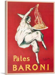 Artcanvas-pates-Baroni-1921-Toile-Art-Imprime-par-Leonetto-Cappiello