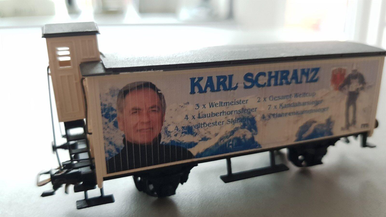 MärklinSonderserie H0 , Auflage je 500 Stk Berühmte Berühmte Berühmte Österreicher Karl Schranz  | Ideales Geschenk für alle Gelegenheiten  6a7108
