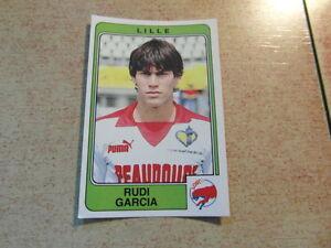 original-FOOTBALL-STICKERS-PANINI-FOOT-86-1986-Rudi-GARCIA-Rookie-Nr-66-Roma