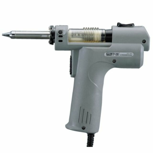 goot Tp-100 Electric Vacuum Desoldering Iron 100v 5060hz Japan for sale online