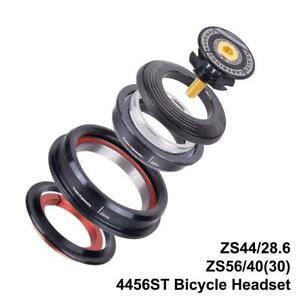 4456ST-MTB-Fahrrad-Steuersatz-Tapered-Straight-Tube-Gabel-Steuersatz-44mm-56mm