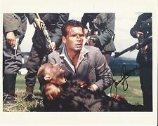 Hand Signed 8x10 photo - JAMES GARNER in THE GREAT ESCAPE + COA
