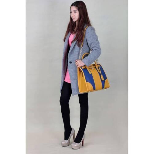 Damen Einkaufstasche Handtasche Groß Kunstleder Designer Schultertasche Neu