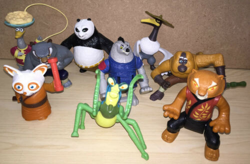 Uk Mcdonalds Kung Fu Panda toy figure loose utilisé