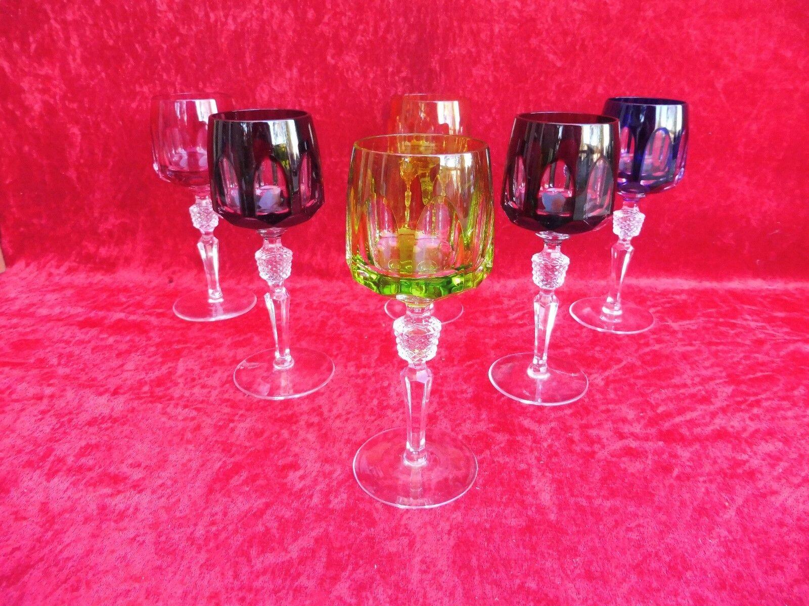 6 edle Wein-Römer__Bleikristall geschliffen___Nachtmann Antika ___ ___ ___ | Wunderbar  a4d5bf