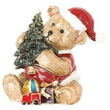Craycombe Trinkets 6029 Christmas Sleigh and Presents Trinket Box