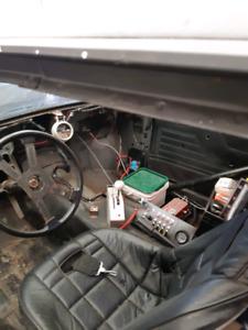 1983 mercury capri  drag car