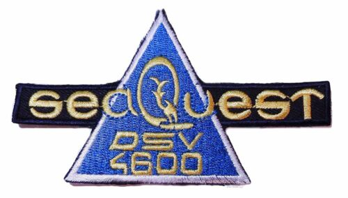 """SeaQuest TV Show DSV 4600 Chest Logo 4 1//2/"""" Wide Embroidered Patch"""