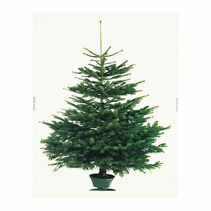 Details About Ikea Christmas Tree Fabric Decorative Panel Xmas Wall Hanging Vinter 2014