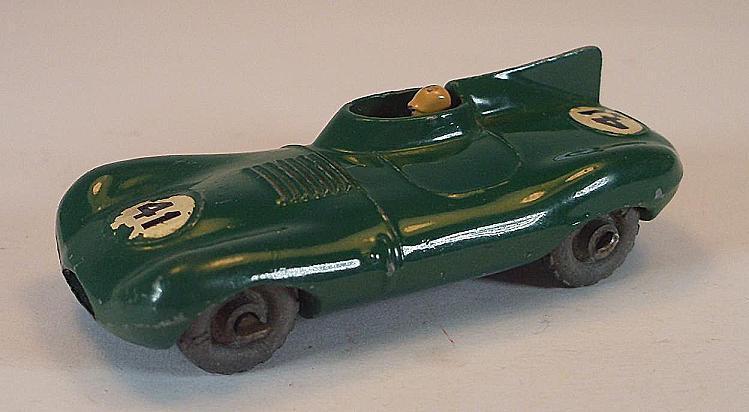 Matchbox regelmäßig räder nr. 41 ein jaguar d-type grüne mtw nr. 41 lesney   440