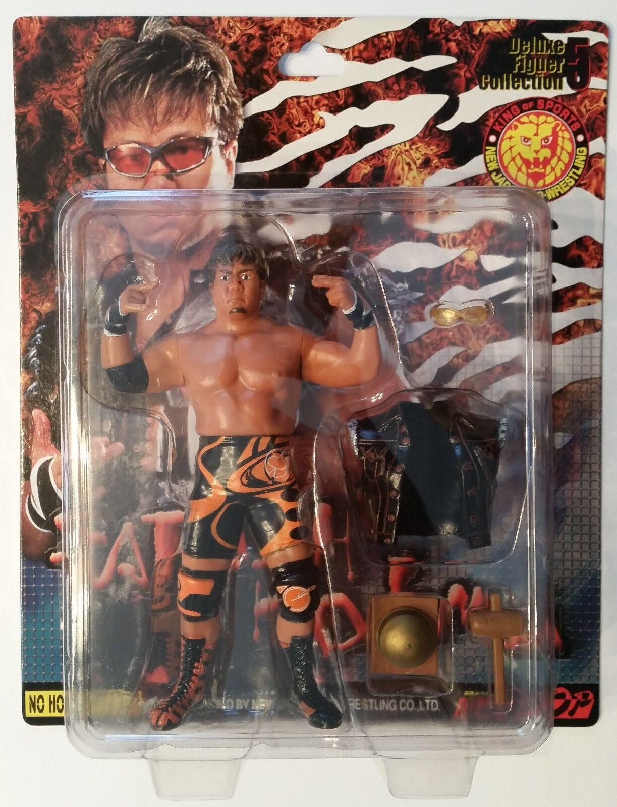 Satoshi Kojima Charapro NJPW Deluxe Figure Collection 5 w/Entrance Attire MOC