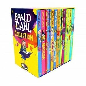 Roald-Dahl-Collection-Phizz-Whizzing-15-Classic-Story-Books-Box-Set-Children-NEW