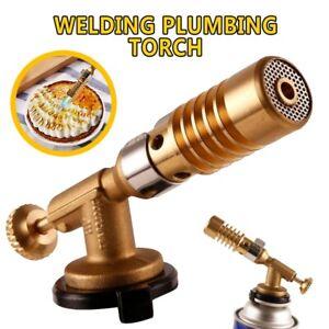 Brass-Mapp-Gas-Blow-Torch-Brazing-Solder-Propane-Welding-Plumbing-Burner-Lighter