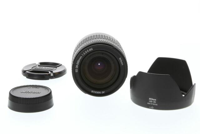 Nikon Nikkor 28-200mm F/3.5-5.6 G IF-ED Aspherical Black Autofocus Lens