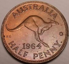 Australia 1/2 Penny, 1964
