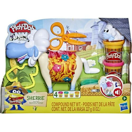 THE SHEEP SHERRIE WITH FUNNY SOUNDS AND MODELLING CLAY PLAYDOH ANIMAL CREW HASBR
