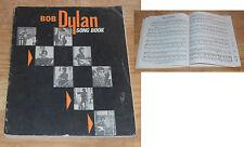 Bob Dylan song book Warner Bros 1966, UK, 144 pages, très rare en cet état...