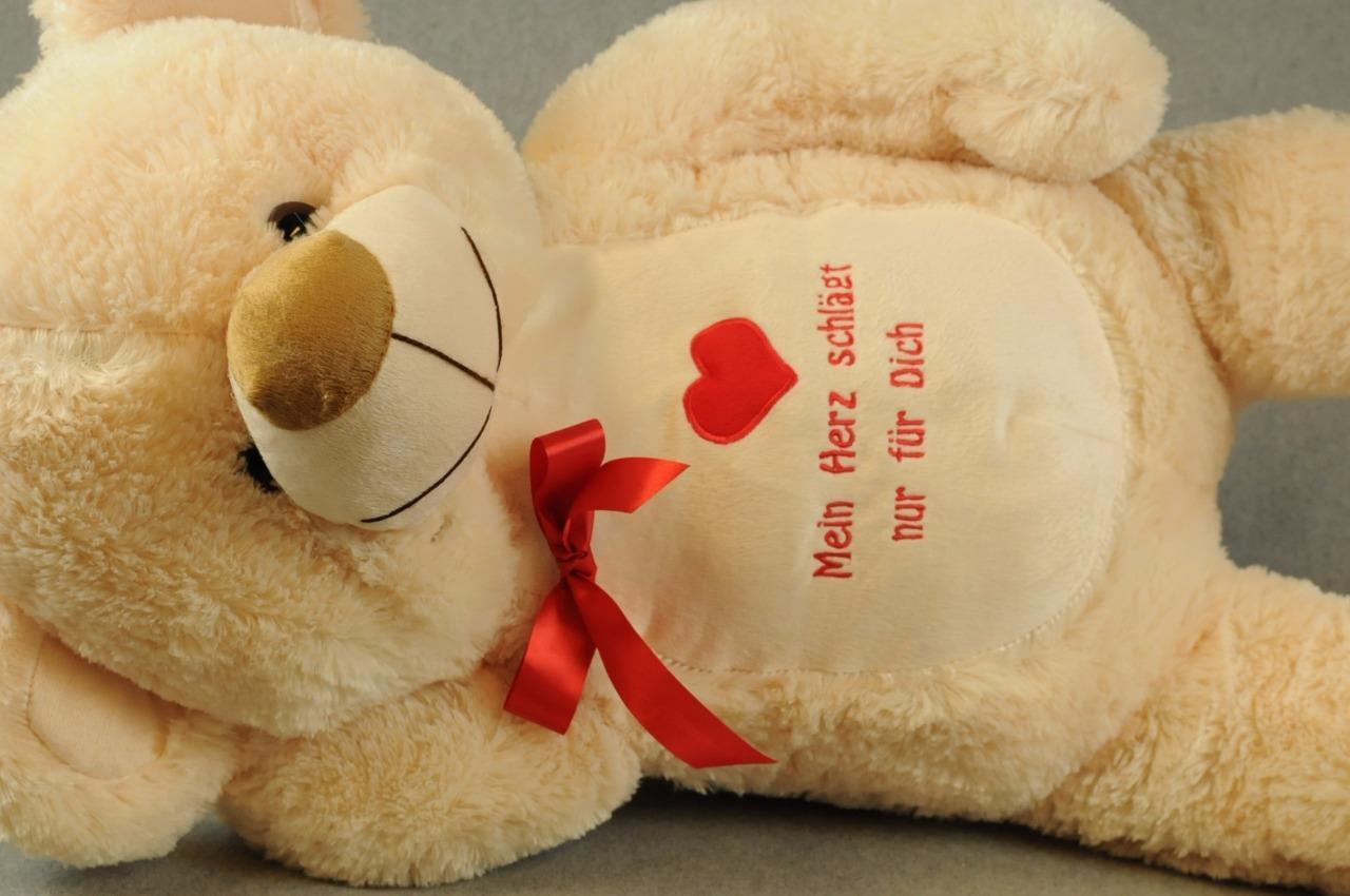 Big Teddy 95cm Kuschelbär schöner Teddybär Plüschteddy kuschelweich NEU  FL3-kh