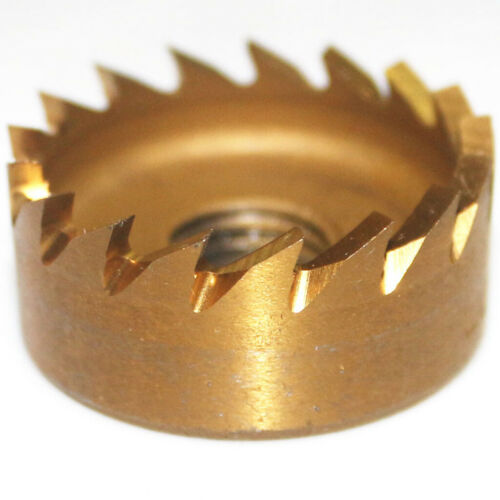 24mm HSS Drill Bit Hole Saw Tooth Stainless Steel Metal Alloy Cutter Tool