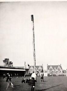 1905 Aufdruck + Text The Inverness Gathering Weitwurf The Caber