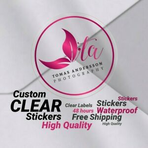 Custom logo Decals Bulk Sticker Vinyl Custom stickers Product bottles Labels