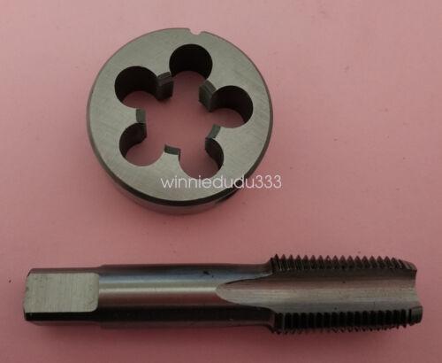 1pc HSS Machine 1//8-27 NPT Plug Tap and 1pc 1//8-27 NPT Die Threading Tool