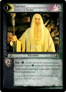 Lord of the Rings LoTR TCG Rise of Saruman ROS Complete Starter Set 7 Cards