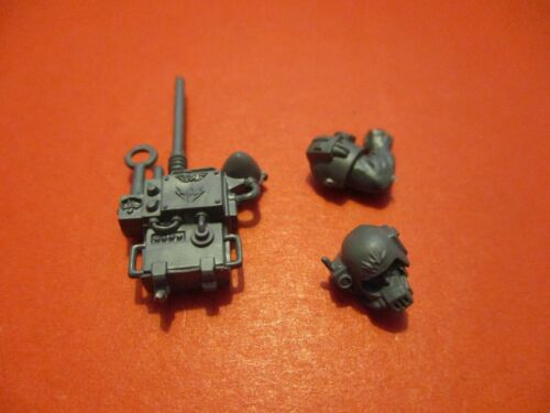 Warhammer 40k Imperial Guard Cadian Command Squad Vox Caster Upgrade With Arms
